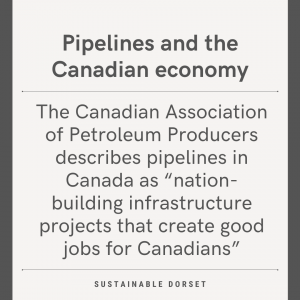 Pipelines and the Canadian economy